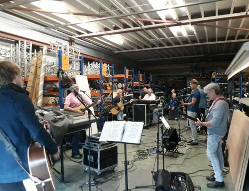 De band weer gestart met repetities !